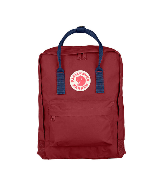Fjallraven Kanken Bag Ox Red and Royal Blue - Men's Online Shopping in Singapore | The Assembly Store