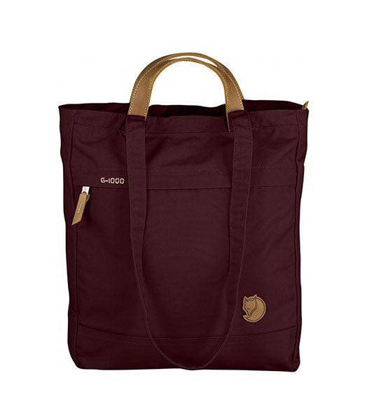 Fjallraven Kanken Totepack No 1 Bag Dark Garnet - Men's Online Shopping in Singapore | The Assembly Store