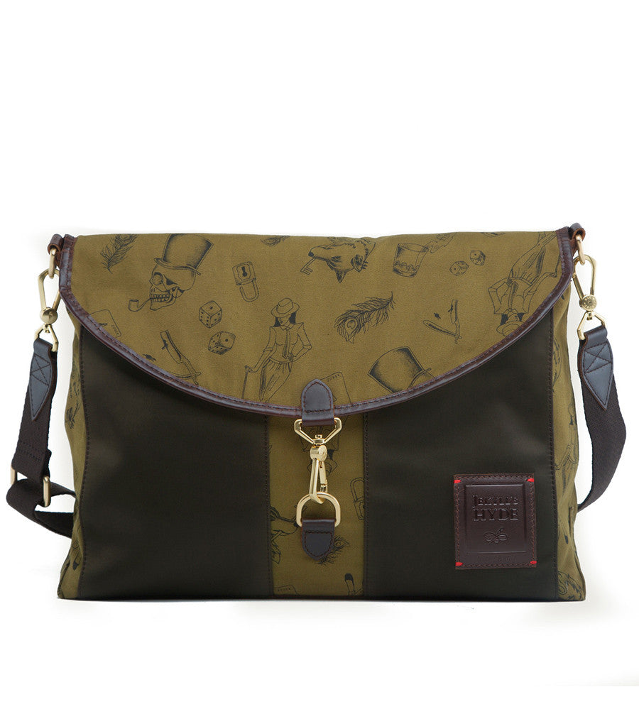 Kensington Messenger - Forest Green