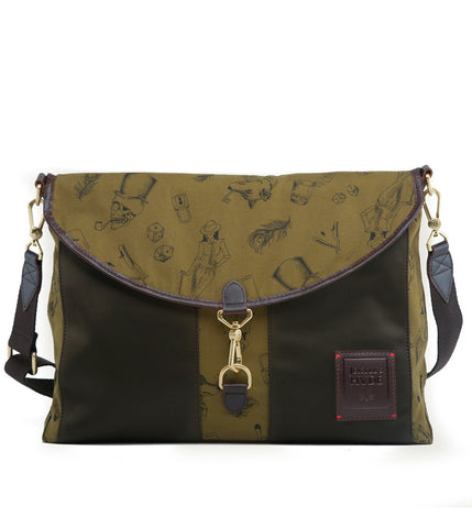 Gnome & Bow Kensington Messenger - Forest Green - Men's Online Shopping in Singapore | The Assembly Store - 2
