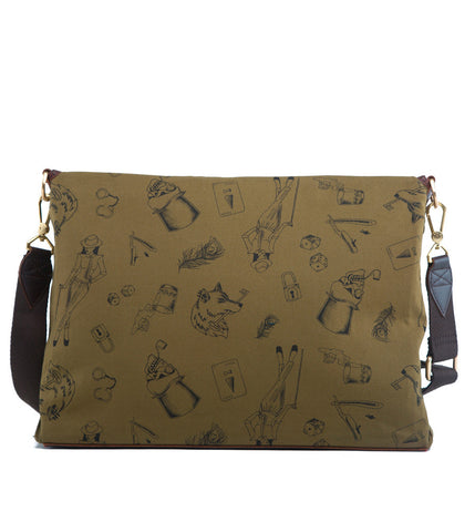 Gnome & Bow Kensington Messenger - Forest Green - Men's Online Shopping in Singapore | The Assembly Store - 4