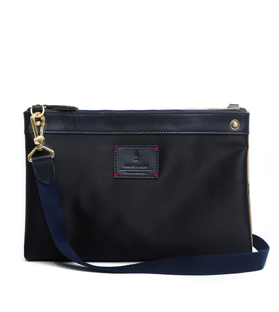 Milton Crossbody Clutch - Midnight Blue