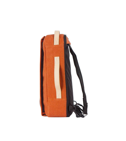 Rawrow R Bag 130 Wax Canvas Orange - Men's Online Shopping in Singapore | The Assembly Store - 2