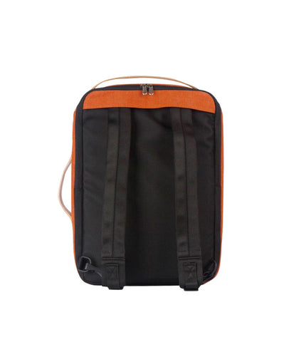 Rawrow R Bag 130 Wax Canvas Orange - Men's Online Shopping in Singapore | The Assembly Store - 3
