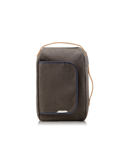 Rawrow R Bag 200 Mini Wax Canvas Charcoal - Men's Online Shopping in Singapore | The Assembly Store - 1