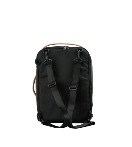 Rawrow R Bag Mini 250 Wax Canvas Charcoal - Men's Online Shopping in Singapore | The Assembly Store - 3