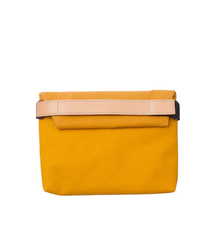 Rawrow R Clutch 130 Wax Canvas Mustard - Men's Online Shopping in Singapore | The Assembly Store - 1
