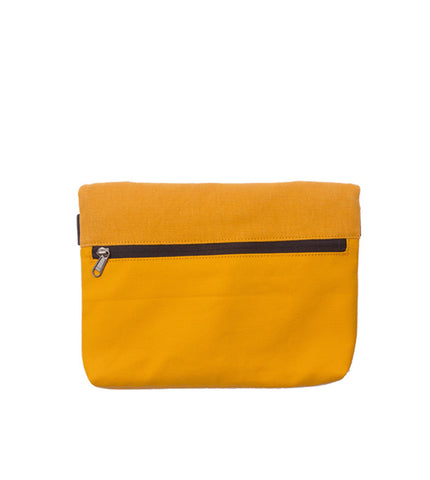 Rawrow R Clutch 130 Wax Canvas Mustard - Men's Online Shopping in Singapore | The Assembly Store - 2