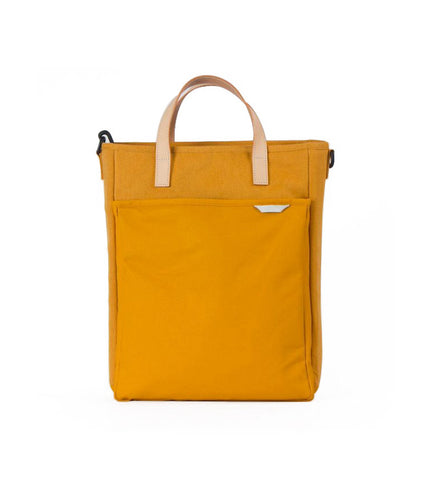 Rawrow R Tote 130 Wax Canvas Mustard - Men's Online Shopping in Singapore | The Assembly Store - 1
