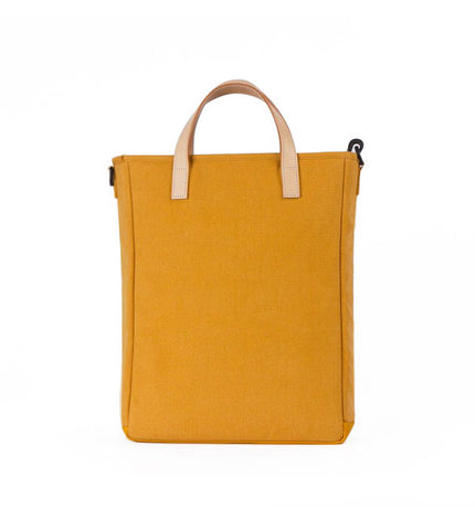 Rawrow R Tote 130 Wax Canvas Mustard - Men's Online Shopping in Singapore | The Assembly Store - 3