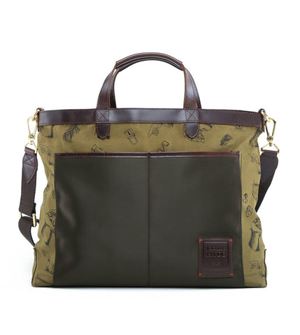 Gnome & Bow Strand Briefcase - Forest Green - Men's Online Shopping in Singapore | The Assembly Store - 1