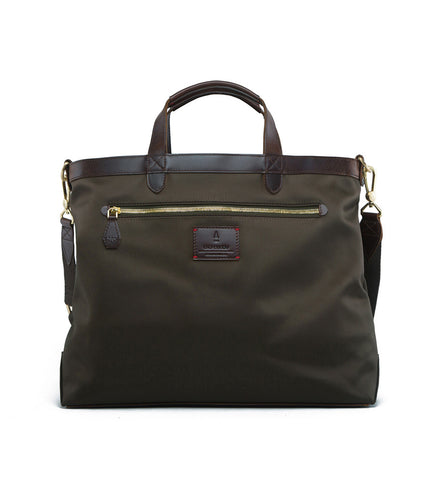 Gnome & Bow Strand Briefcase - Forest Green - Men's Online Shopping in Singapore | The Assembly Store - 2