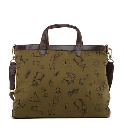 Gnome & Bow Strand Briefcase - Forest Green - Men's Online Shopping in Singapore | The Assembly Store - 4