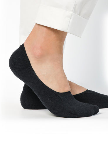 Boucle Invisible Socks Black