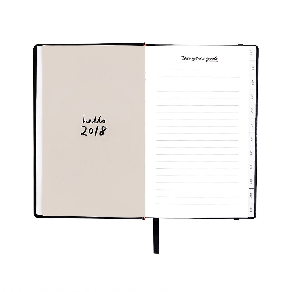 Regular Black 2018 Planner
