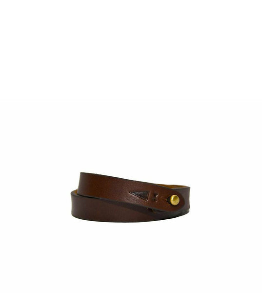 Gnome & Bow Twine Leather Bracelet Mahogany - Men's Online Shopping in Singapore | The Assembly Store