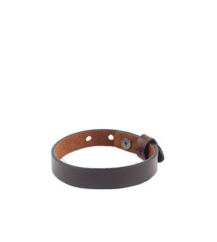 Gnome & Bow Twine Single Leather Bracelet - Mahogany - Men's Online Shopping in Singapore | The Assembly Store - 2