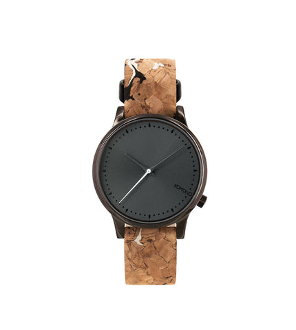 Komono Estelle Cork Black and White - Men's Online Shopping in Singapore | The Assembly Store - 1