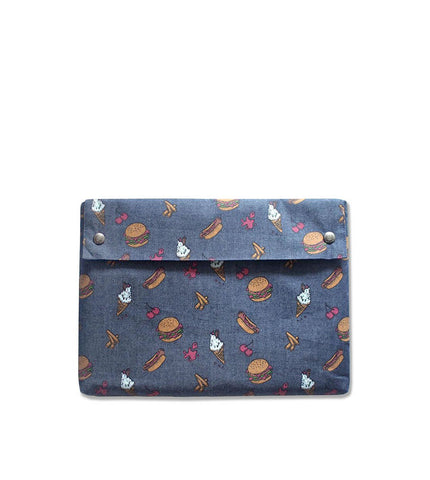 "Fabrix Folio Case 13"" Fast Food - Men's Online Shopping in Singapore 