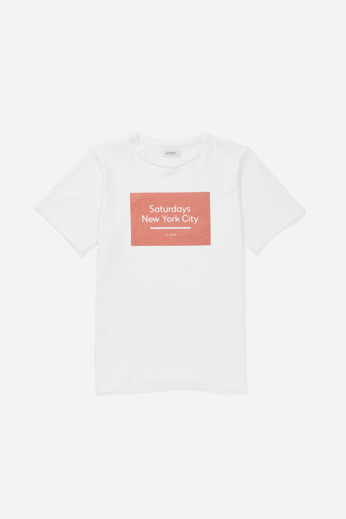 Underlined Standard Box S/S Tee