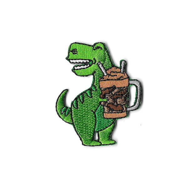 Milo Dinosaur Iron On Patch