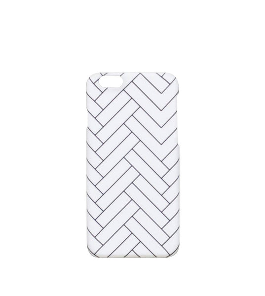 Fabrix Tiles Snap Case iPhone 6 Plus White - Men's Online Shopping in Singapore | The Assembly Store