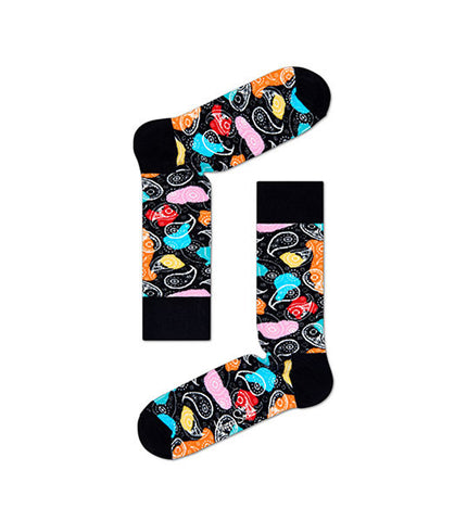 Happy Socks Abstract Paisley Sock - Men's Online Shopping in Singapore | The Assembly Store - 1
