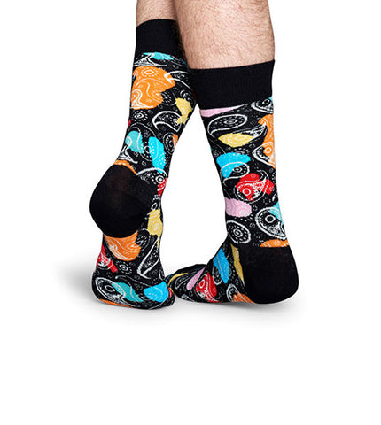 Happy Socks Abstract Paisley Sock - Men's Online Shopping in Singapore | The Assembly Store - 2