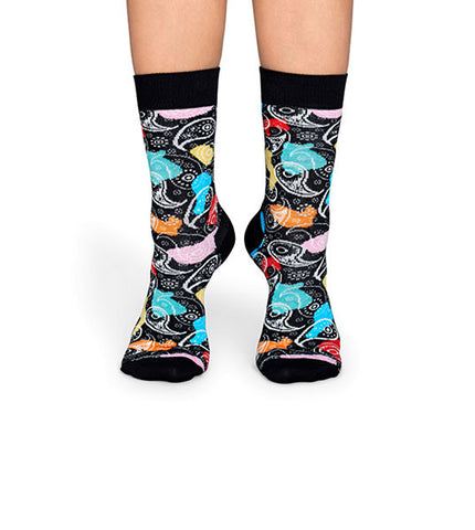 Happy Socks Abstract Paisley Sock - Men's Online Shopping in Singapore | The Assembly Store - 3