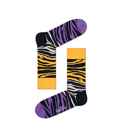 Happy Socks Block Zebra Sock - Men's Online Shopping in Singapore | The Assembly Store - 1