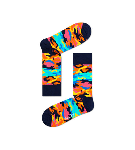 Happy Socks Camo Sock - Men's Online Shopping in Singapore | The Assembly Store - 1