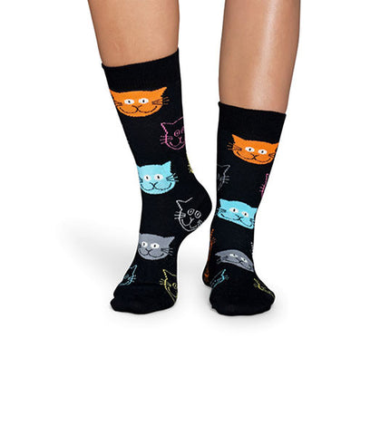 Happy Socks Cat Sock - Men's Online Shopping in Singapore | The Assembly Store - 3
