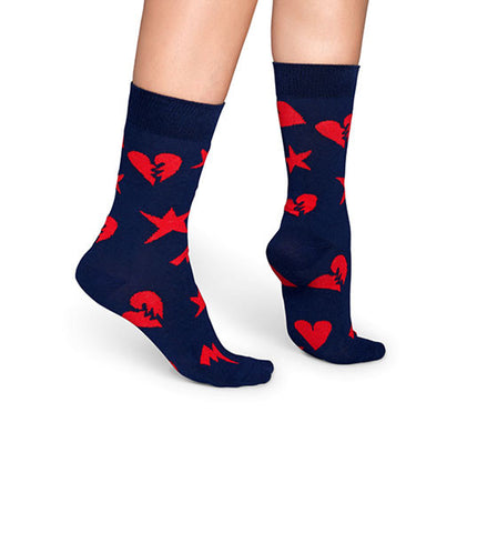 Happy Socks Punk Love Sock - Men's Online Shopping in Singapore | The Assembly Store - 3