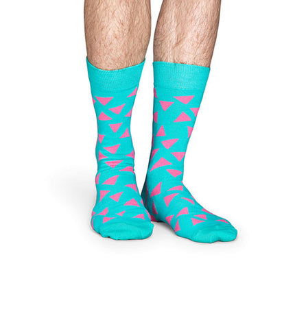 Happy Socks Triangle Sock - Men's Online Shopping in Singapore | The Assembly Store - 2