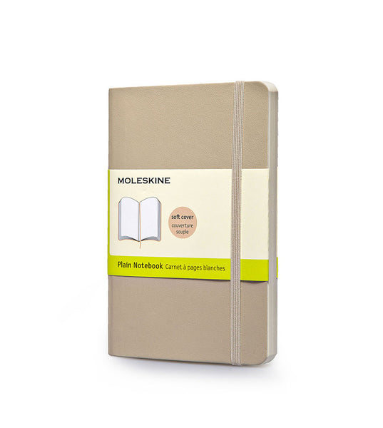 Moleskine Large Plain Beige Soft - Men's Online Shopping in Singapore | The Assembly Store - 1