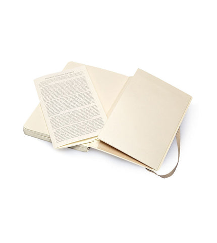 Moleskine Large Plain Beige Soft - Men's Online Shopping in Singapore | The Assembly Store - 2