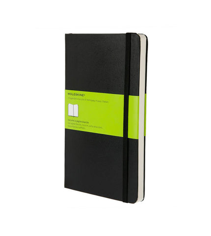 Moleskine Large Plain Black Hard - Men's Online Shopping in Singapore | The Assembly Store - 1
