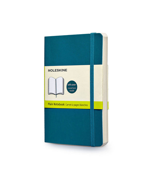 Moleskine Large Plain Blue Soft - Men's Online Shopping in Singapore | The Assembly Store - 1