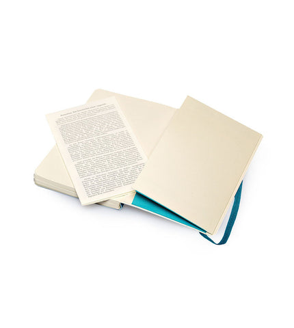 Moleskine Large Plain Blue Soft - Men's Online Shopping in Singapore | The Assembly Store - 2