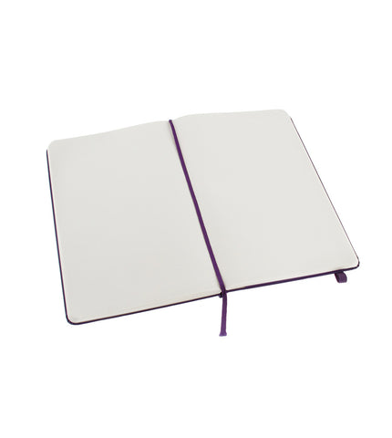 Moleskine Large Plain Brilliant Violet Hard - Men's Online Shopping in Singapore | The Assembly Store - 2