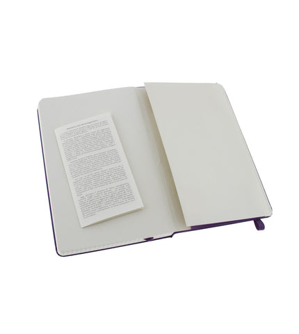 Moleskine Large Plain Brilliant Violet Hard - Men's Online Shopping in Singapore | The Assembly Store - 3
