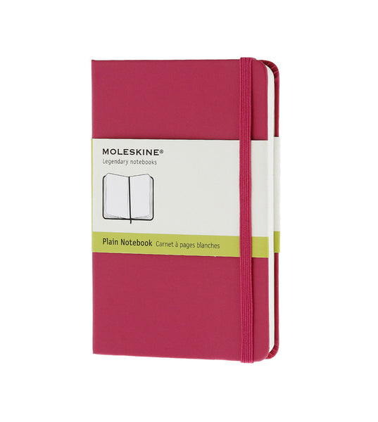 Moleskine Large Plain Magenta Hard - Men's Online Shopping in Singapore | The Assembly Store - 1