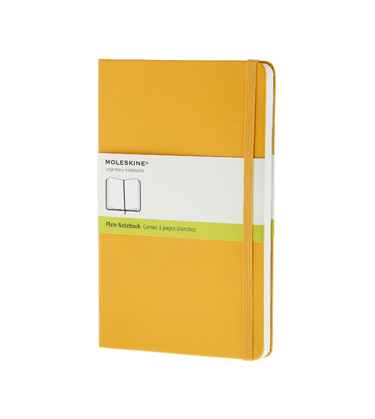 Moleskine Large Plain Orange Yellow Hard - Men's Online Shopping in Singapore | The Assembly Store - 1