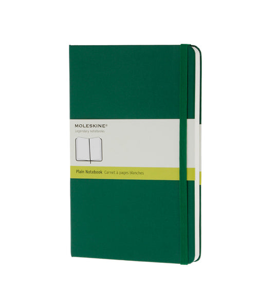 Moleskine Large Plain Ox Green Hard - Men's Online Shopping in Singapore | The Assembly Store - 1