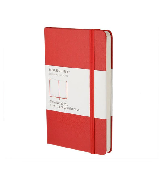 Moleskine Large Plain Red Hard - Men's Online Shopping in Singapore | The Assembly Store - 1