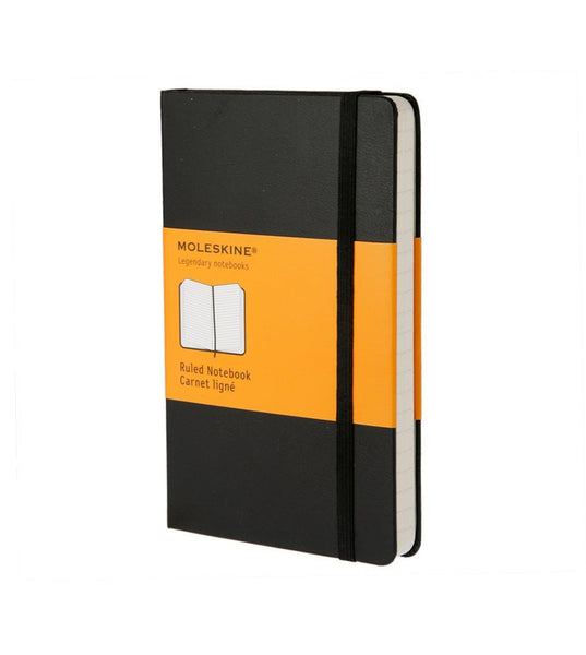 Moleskine Large Ruled Black Hard - Men's Online Shopping in Singapore | The Assembly Store - 1