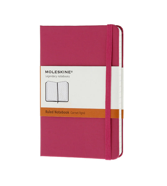 Moleskine Large Ruled Magenta Hard - Men's Online Shopping in Singapore | The Assembly Store - 1
