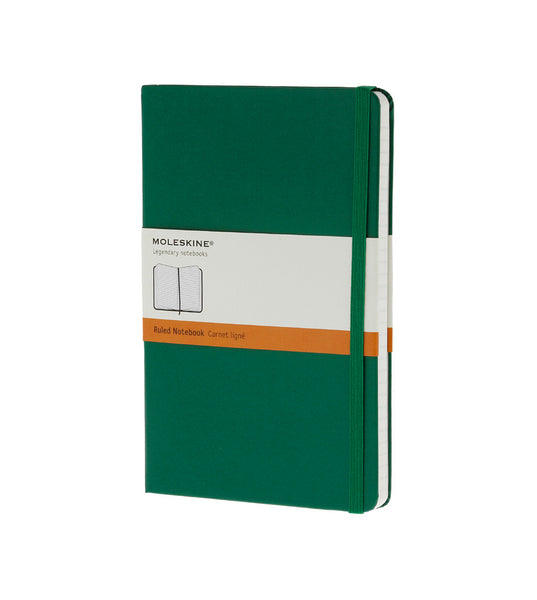 Moleskine Large Ruled Ox Green Hard - Men's Online Shopping in Singapore | The Assembly Store - 1