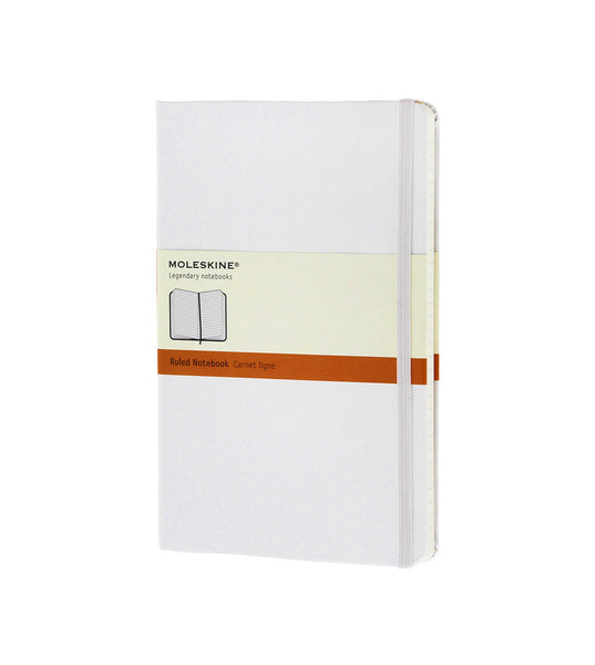 Moleskine Large Ruled White Hard - Men's Online Shopping in Singapore | The Assembly Store - 1