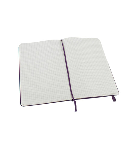 Moleskine Large Squared Brilliant Violet Hard - Men's Online Shopping in Singapore | The Assembly Store - 2